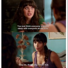new girl wisdom (or as I like to call, it, a conversation julie and i would have) :)