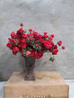 Red In Love Valentines www.dandelionranch.com #flowers #gifts #love