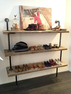 cool shelving- carriage house