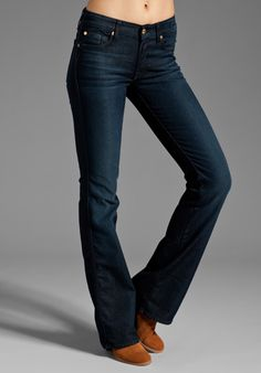 7 FOR ALL MANKIND Kimmie Bootcut in Reflective Night Star at Revolve Clothing- love these too!