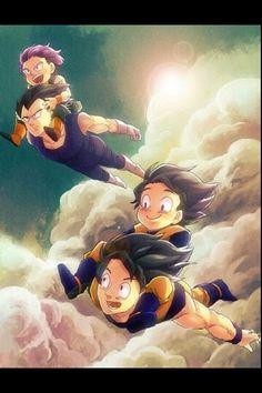 Vegeta ~ Trunks ~ Goku ~ Goten