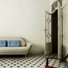 With countless possible combinations, the Jaime Hayon Collection of Contemporary Cement Tiles for interior design are all striking, modern and fun designs. Best Interior Design, Interior And Exterior, Love Your Home, Floor Decor, Tile Design, Interiores Design, Decoration, Furniture Design, Contemporary
