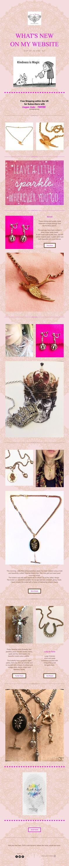 Newly Created Pieces