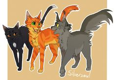 Best Friends by Silverzoul<<Ravenpaw,Firepaw,and Graypaw Warrior Cats Movie, Warrior Cat Memes, Warrior Cats Series, Warrior Cats Art, Love Warriors, Angry Cat, Comic, Cat Drawing, Fan Art