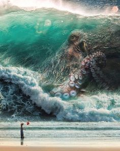 Release the Kraken! - Food Meme - Release the Kraken! The post Release the Kraken! appeared first on Gag Dad. Fantasy Creatures, Mythical Creatures, Fantasy Kunst, Fantasy Art, Octopus Art, Octopus Sketch, Arte Horror, Sea Monsters, Fantasy Landscape