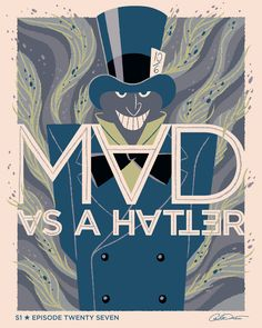 "Batman The Animated Series Episode 27 ""The Mad Hatter"" - George Caltsoudas"