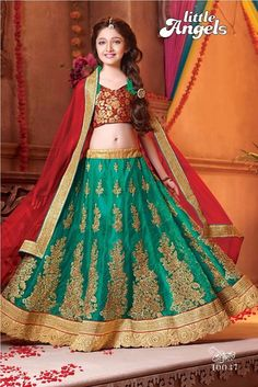 SBTrendZ LITTLE ANGEL Lehengas Size:-32 7th to 10th Age Size:-36  11th to 13th Age Lehenga fabrics :- Pure Nett with Embroidery work Dupatta :- Pure nett with border  Blouse fabrics :- Brocket  inner :- Brocket 0For more details and orders mail us on sbtrendz@gmail.com or Whatsapp 91 9495188412; Visit us on http://ift.tt/1pWe0HD or http://ift.tt/1NbeyrT to see more ethnic collections. #HandloomSaree #Lehenga #Gown #Kurti #SalwarSuit #Saree #ChiffonSaree #salwarkameez #GeorgetteSuit…