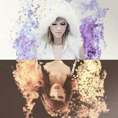Frozen Taylor vs Taylor on fire! ♥♥ which tay you prefer ?