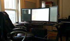 Nice P-L-P monitor set up.