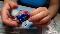 Design Foil Gradient Manicure Starry Sky Дизайн фольга градиент маникюр ...