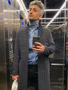 Ever since he graced our screens on Queer Eye, Tan France's wardrobe has been an inspiration to so many. Queer Fashion, Fashion Outfits, Men Fashion, Tan France, Simple Street Style, Anna, Red Blazer, Double Breasted Jacket, Celebrity Style