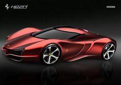 Ferrari Xezri concept ________________________ WWW.PACKAIR.COM