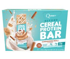"""Regular cereal is made from grains. BEYOND cereal is made from protein! The Quest """"Beyond Cereal"""" Bar has all the sweet, comforting crunch of a junk food cereal bar, but with the incredible nutritional profile you know you can expect from Quest. It's a bar for the kid in all of us who loves cereal, but dares to GO AGAINST THE GRAIN.  <br><br> ALLULOSE: This is our first product using Allulose, a revolutionary sweetener found in nature that offers all the taste and texture of tradi..."""