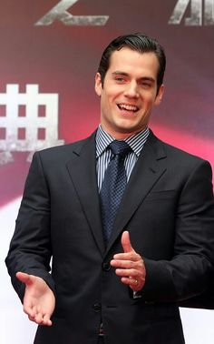 """Henry Cavill at the """"Man of Steel"""" Premiere in Shanghai."""