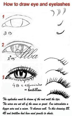 Design to draw - Draw Pattern - Tutorial eye and eyelashes by ~lamorghana on deviantART... Draw Pattern & inspiration  Preview – Pattern    Description  Tutorial eye and eyelashes by ~lamorghana on deviantART  – Source –