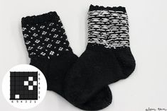eilen tein: MUIJA Lots Of Socks, Colorful Socks, Knitting Videos, Drops Design, Knitting Socks, Diy Clothes, Mittens, Knit Crochet, Knitting Patterns