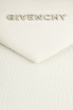 Givenchy|Small Antigona bag in white grained leather