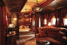 "Gorgeous suite reminiscent of ""Murder on the Orient Express"" at Rivertown Inn - Stillwater, Minnesota"