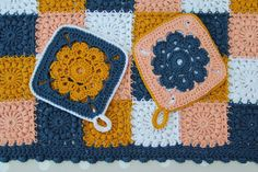 creJJtion: My First Potholders and a little tutorial
