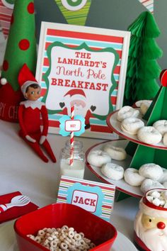 PERSONALIZED Elf North Pole Breakfast by MakingLifeWhimsical