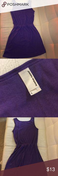 AMERICAN APPAREL DRESS Beautiful purple American apparel dress  100% cotton  Comfortable and casual American Apparel Dresses Midi