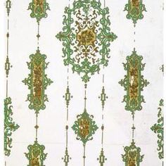 #wallpaperwednesday arsenic green wallpaper. Looks #christmassy but actually #deadly