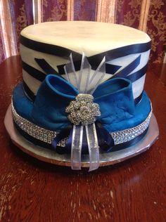 Sunday hat cake