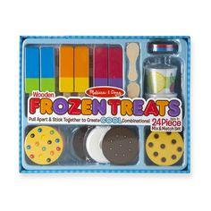 Gelato, Cozinha Do Mickey Mouse, Ice Cup, Play Food Set, Italian Ice, Cookie Flavors, Make Ice Cream, Melissa & Doug, Frozen Treats