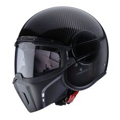 The Caberg Jet 'Ghost' helmet is now making waves on account of its looks. How of a carbon fiber variation? Caberg has introduced the most Ghost helme Open Face Motorcycle Helmets, Bluetooth Motorcycle Helmet, Cafe Racer Motorcycle, Motorcycle Style, Motorcycle Gear, Motorcycle Accessories, Bike Helmets, Motorcycle Clothes, Auto Accessories