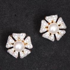 American Diamond Stud - Online Shopping for Earrings by Swarajshop