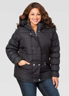 d25ffeeb1f57a Short Puffer Winter Coat Short Puffer Winter Coat Plus Size Winter