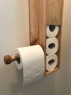 Toilet Roll Holder, Pallet Furniture, Decoration, Toilet Paper, Woodworking, Bathroom, Simple, Crafts, Home Decor