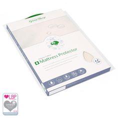 Organic Cot Waterproof Mattress Protector 60x120cm | Cot Mattress Protectors from The Little Green Sheep, UK