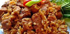 Érdekel a receptje? Kattints a képre! Hungarian Cuisine, Hungarian Recipes, Meat Recipes, Recipies, Pork Dishes, Kaja, Fried Rice, Bacon, Food And Drink