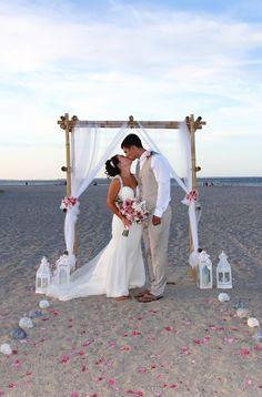 Tybee Island beach wedding