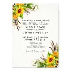 Ask your girls to be with you on your special day with Flowers bridal party proposal cards from Zazzle! Country Wedding Gifts, Gifts For Wedding Party, Rustic Wedding, Wedding Pins, Barn Wedding Invitations, Sunflower Wedding Invitations, Custom Invitations, Invitation Card Design, Floral Invitation