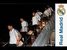 FOOTBALL -  Así fue la llegada del Real Madrid a Miami - http://lefootball.fr/asi-fue-la-llegada-del-real-madrid-a-miami/