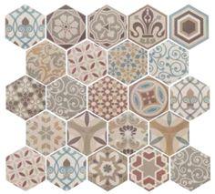 Hexagon Harmony Colours 17.5x20cm