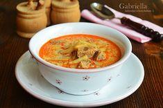 Gabriella kalandjai a konyhában :): Palóc leves -akár bográcsban készítve Thai Red Curry, Pesto, Food And Drink, Lunch, Dinner, Ethnic Recipes, Dining, Eat Lunch, Food Dinners