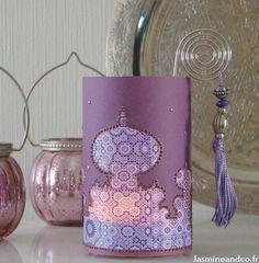 Moroccan diy candle jar // Faire une lanterne orientale : http://blog.jasmineandco.fr/diy-lanterne-marocaine/