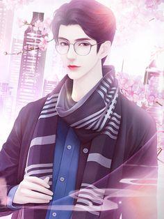 Pin by Dia on Beautiful Drawings in 2020 Cute Anime Boy, Anime Art Girl, Anime Witch, Portrait Cartoon, Anime Muslim, Cute Cartoon Pictures, Beautiful Fantasy Art, Handsome Anime Guys, Anime Love Couple