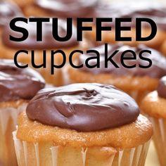 Rachael: Cake Boss Stuffed Cupcakes Recipe + Chocolate Fudge Frosting