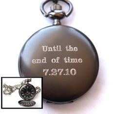 Our Engraved Pocket watches make the perfect gift for Father's Day, Groomsmen, Grooms, Birthdays, Anniversaries and so much more! What a great way to remember your first father's day with a pocket watch engraved with a monogram and date. Wedding Gifts For Men, Gifts For Fiance, Wedding Gifts For Bridesmaids, Diy Gifts For Boyfriend, Personalized Wedding Gifts, Gifts For Father, Gifts For Him, Fathers, Trendy Wedding