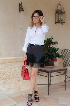 ESTILISMO CON ROMY: Tendencia Shiny: llevar alguna prenda brillante de...