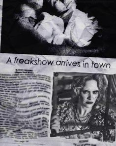 We're Goin to the CARNIVAAAAL!  American Horror Story: Freak Show