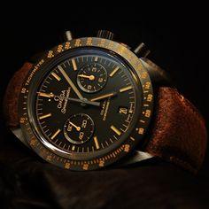 Omega Speedmaster Moonwatch Dark Side of the Moon Vintage Black
