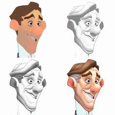 ArtStation - Character Sheet, Javier Burgos