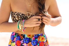 Jungle Fever ( Animal Print Swimwear & Floral Swimwear )