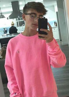 YouTuber Johnny Orlando in an Instagram selfie in October 2017...