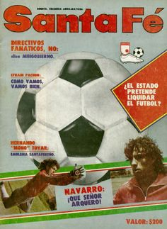 Santa Fe, Video Game, Soccer, Cover Pages, Cute, Futbol, European Football, European Soccer, Football
